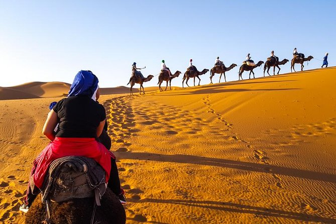 Private 3 Days Desert trip from Marrakech to Merzouga and back to Fez