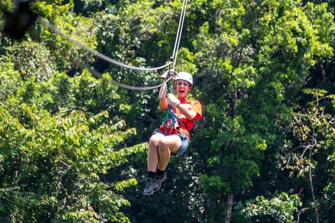Highest,Fastest,Longest Zip line in Belize & Cave Adventure