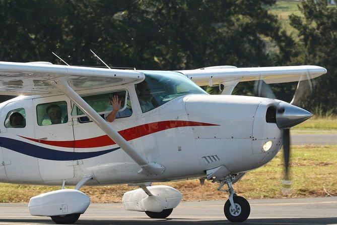 Flight Over Poas & Irazu Volcanoes. 1 hour flight. Private Tour