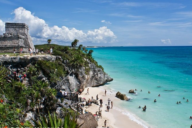 Discover Tulum & Coba with a delicious gourmet beachside lunch