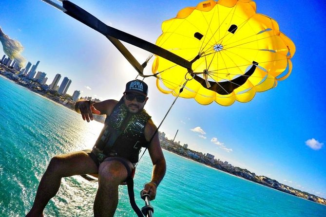 Parasail Flight - Incredible Experience - Natal - Morro do Careca - Ponta Negra