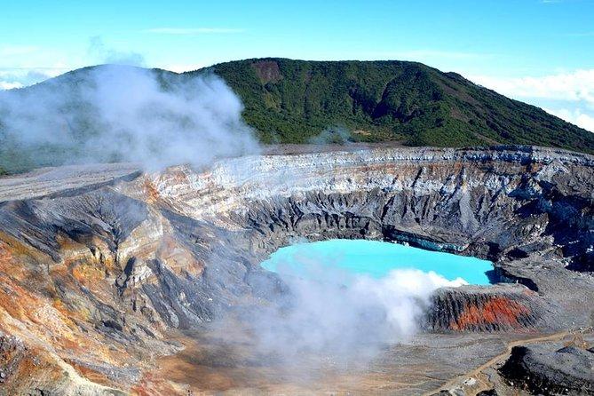 Helicopter Tour Over Poas Volcano. 1 Hour Flight. Private Tour