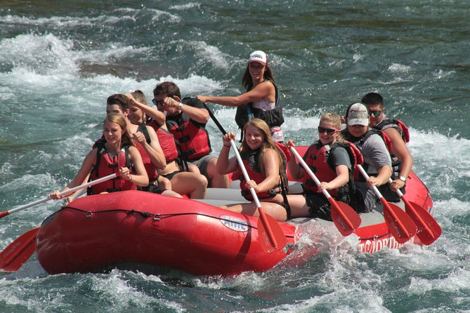Full Day Glacier National Park Whitewater Trip