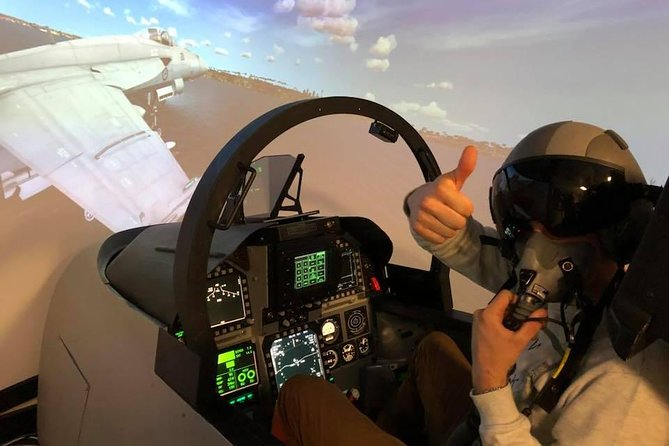 F-18 Combat Fighter Flight Simulator: 60 minutes