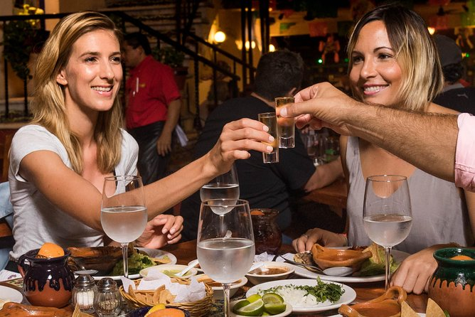 Mexican Dinner and Sprits Tasting in Cancun with transportation