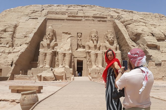 Abu Simbel Temples Private Day Tour by Luxury Car from Aswan