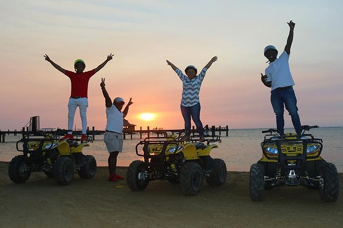 Roatan 4x4 ATV Sunset & Sightseeing Tour