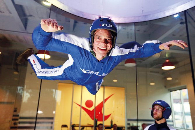 Basingstoke Indoor Skydiving Experience - 2 Flights & Personalised Certificate