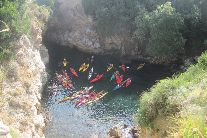 Baths of Queen Giovanna in Kayak