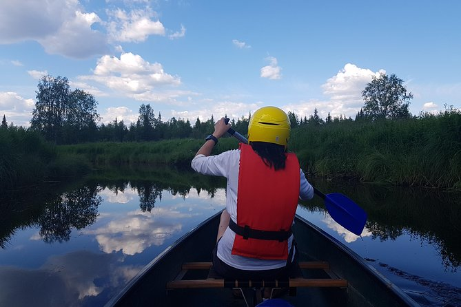 Canoe tour on the river Pyhäjoki