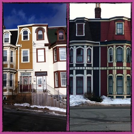 A variety of Jelly Bean Row homes we will see.