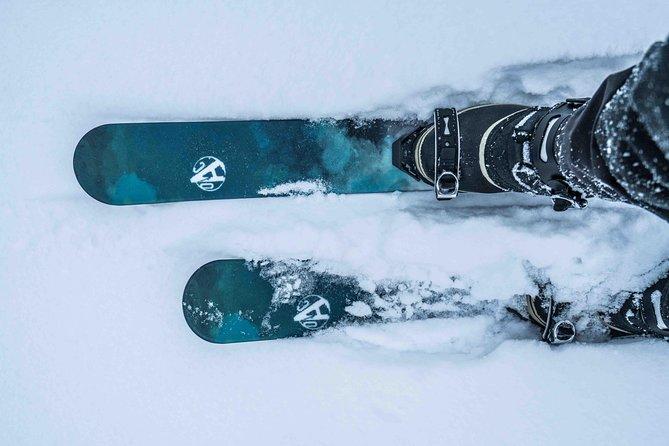 Backcountry skiing adventure