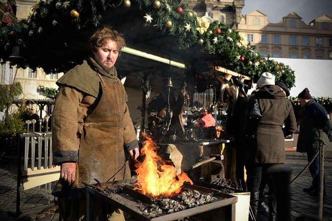 Small Group or Private Prague Christmas Markets Tour with Traditional Snacks