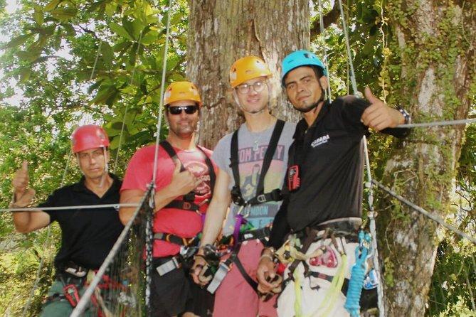 Ultimate Zipline Canopy Tour & Crocodile Safari Cruise Private Tour