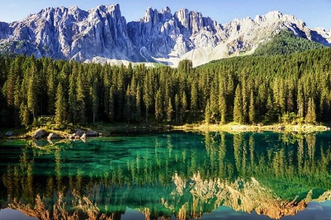 From Bolzano: Private Day Tour by car: The Great Dolomites Road