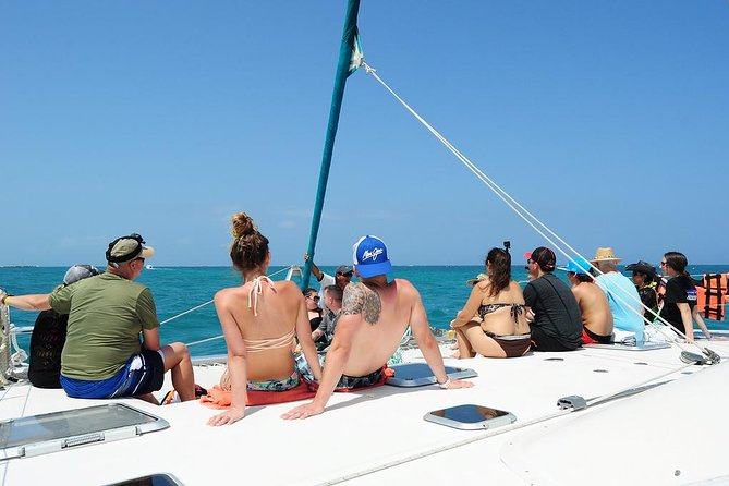 Catamaran Sail and Snorkeling Tour with Open Bar in Puerto Morelos photo 1