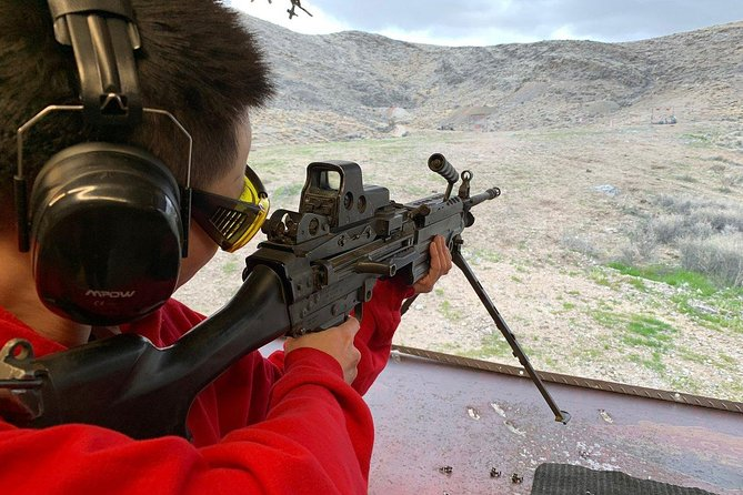 Outdoor Shooting Range Experience at Adrenaline Mountain