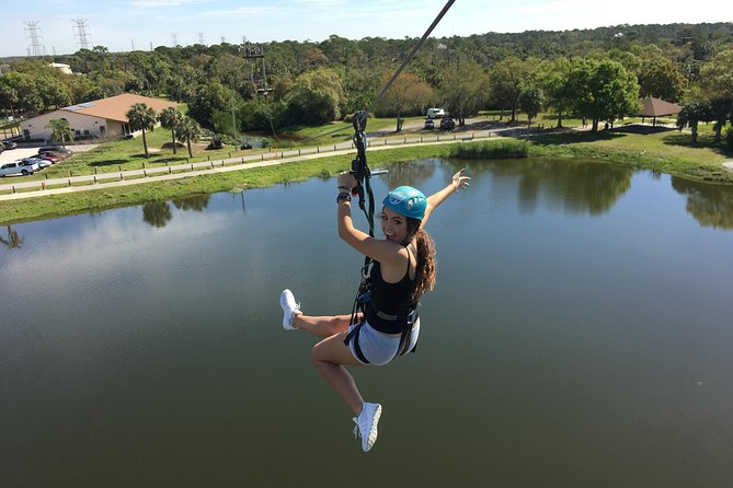 Extreme Zip Line Adventure Tampa Bay