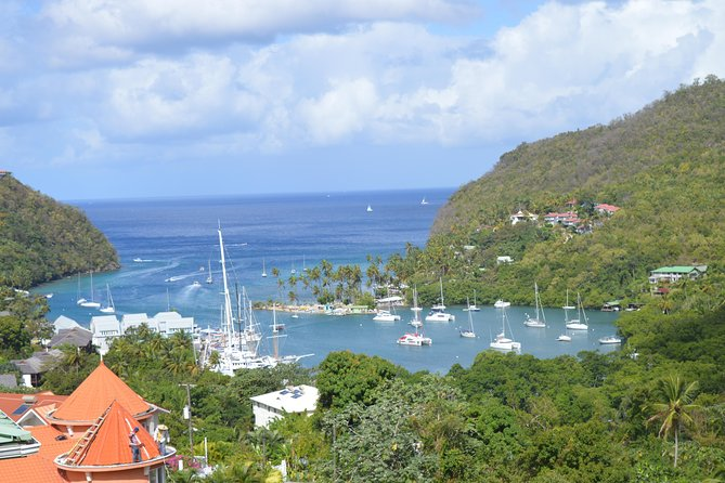 St Lucia Soufriere Natural Attraction