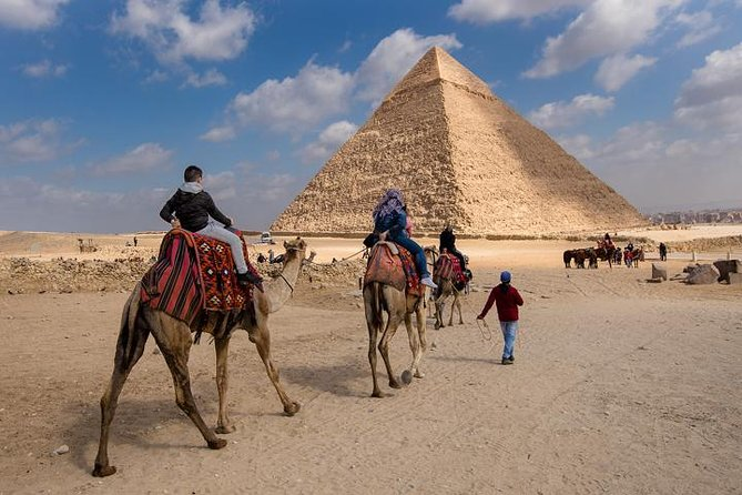 Half Day Tour Adventure for the Pyramids sphinx 45 Minutes camel Ride photo 6