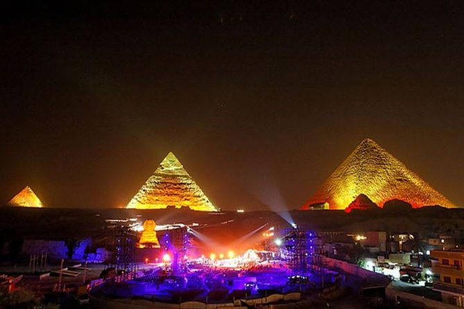 Cairo Layover Tours to Sound and light Show with dinner Started from 6 p.m