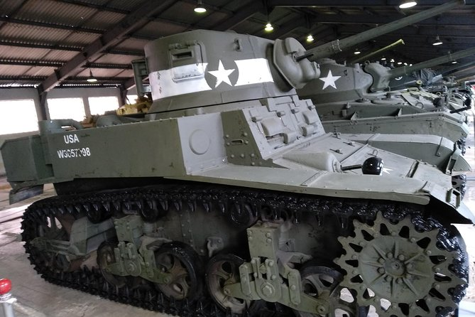 Moscow Tank Museum All Day Private Tour