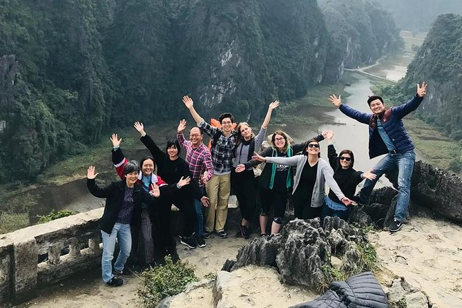 DELUXE Hoa Lu Tam Coc Mua Cave Small Group - Limousine Transfer, Biking, Hiking