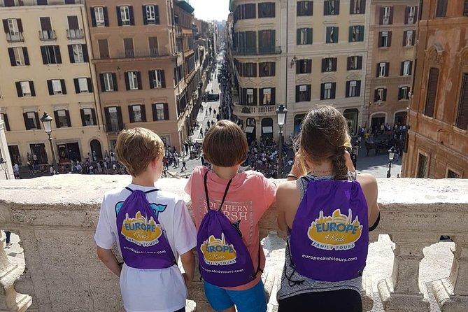Rome For Kids: Trevi Fountain, Pantheon, Navona Square Scavenger Hunt Tour
