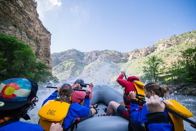 Double Shoshone Half-Day Raft Trip