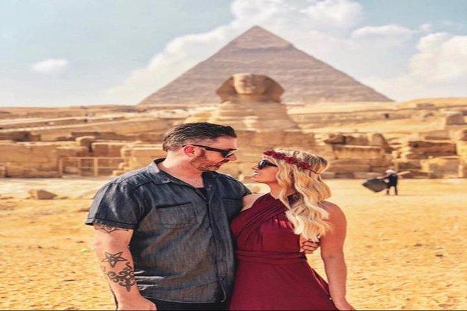 Private Day Trip to Giza pyramids , Saqqara- Dahshur-Barbecue Lunch Camel Ride