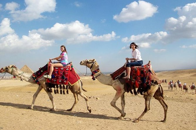 Half Day Tour Adventure for the Pyramids sphinx 45 Minutes camel Ride photo 14