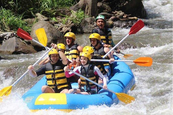 Bali Activity: Ayung White Water Rafting