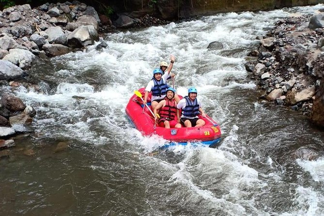 Bali Activity: Telaga Waja White Water Rafting