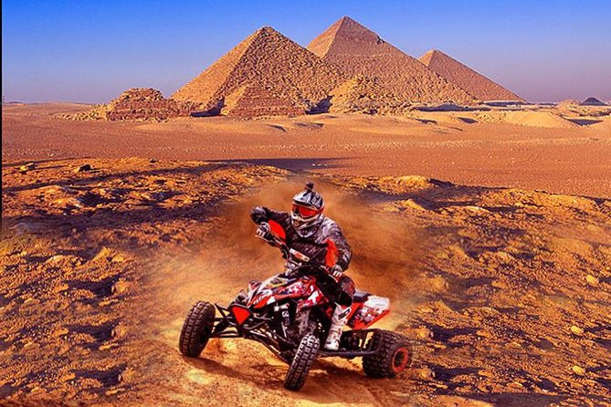 Quad bike adventure with Guided tour to Giza pyramids including camel ride photo 2