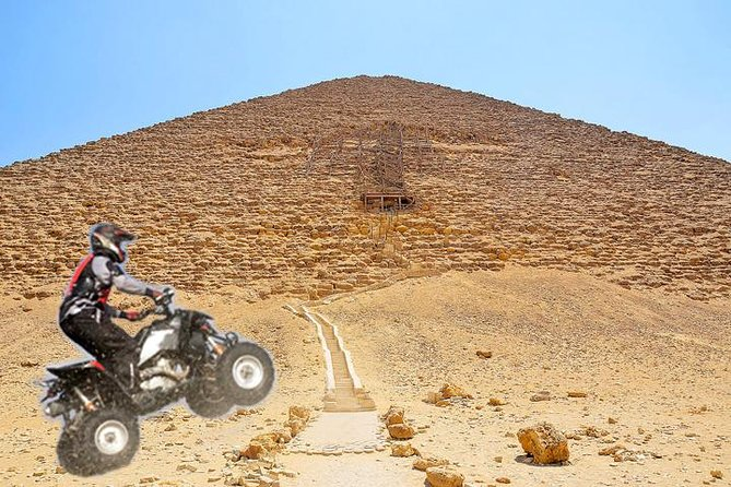 Quad bike adventure with Guided tour to Giza pyramids including camel ride photo 9
