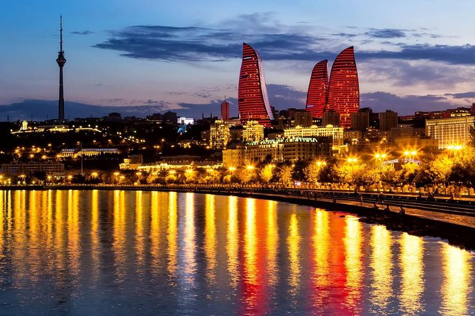 Baku, night view