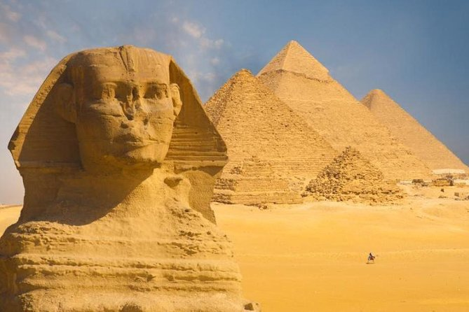Full-Day Tour from Cairo: Giza Pyramids, Sphinx, Memphis, and Saqqara photo 1
