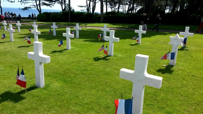 Full Day D-Day landing beaches, American sector