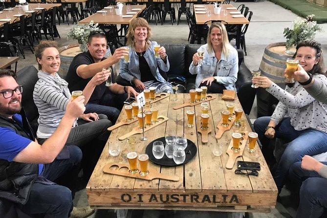 Hobart Hops. A Hobart Craft Beer tour including lunch