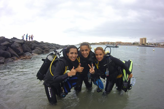 Back from try dive at Playa las Vistas