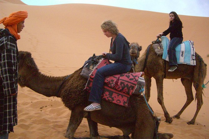 Two Days Sahara Experience from Fez - One night over the Dunes of Erg Chebbi
