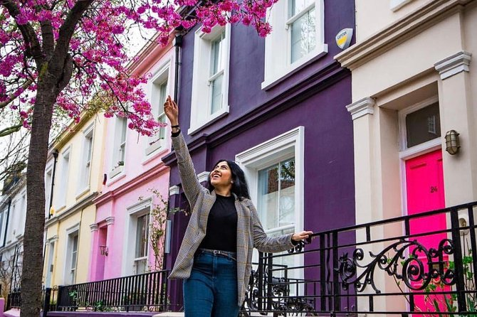 Instagrammable photos in Notting Hill