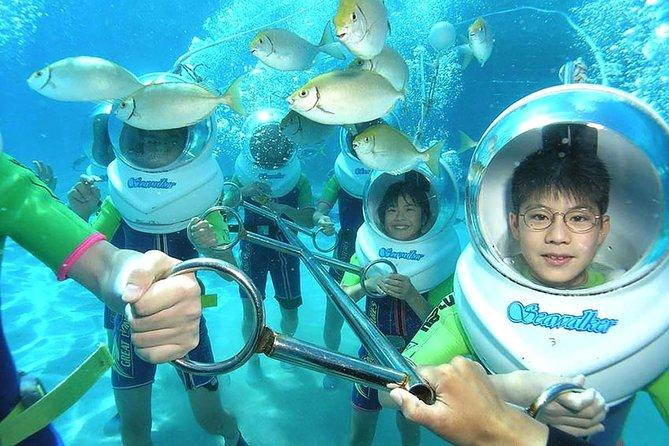 Bali Activity: Sea Walking in Sanur Ocean and White Water Rafting