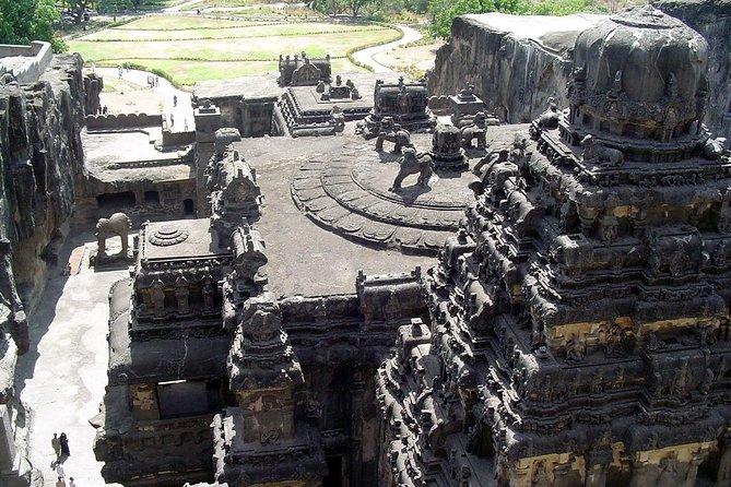 Aurangabad, Ajanta and Ellora Caves Tour with flight from Mumbai (3 Days)