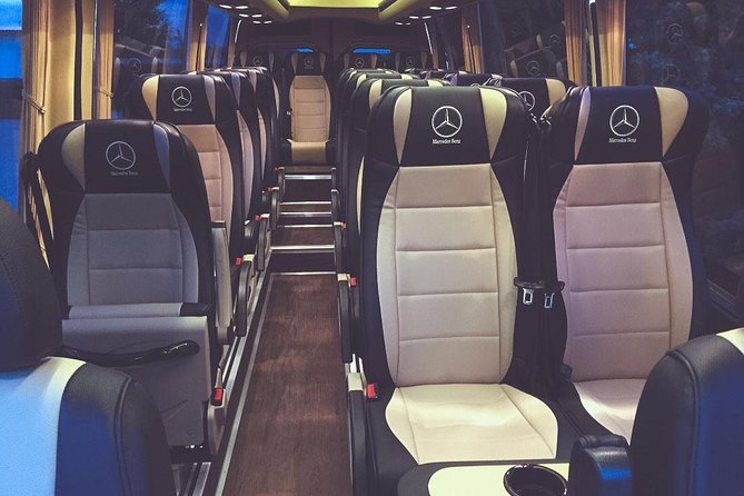 VIP Bus Private Transfer from Vienna to Prague for up to 19 people