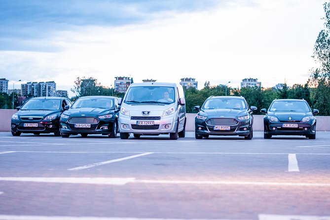 Cracow Airport Balice Private Transfer to the city center - VAN Roundtrip
