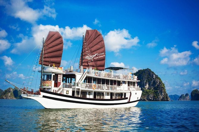 Halong Bay 2 Days 1 Night with 3,5 star boutique cruise
