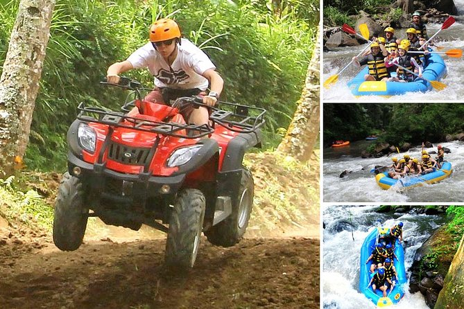Bali Activity: White Water Rafting and Quad Bike Packages