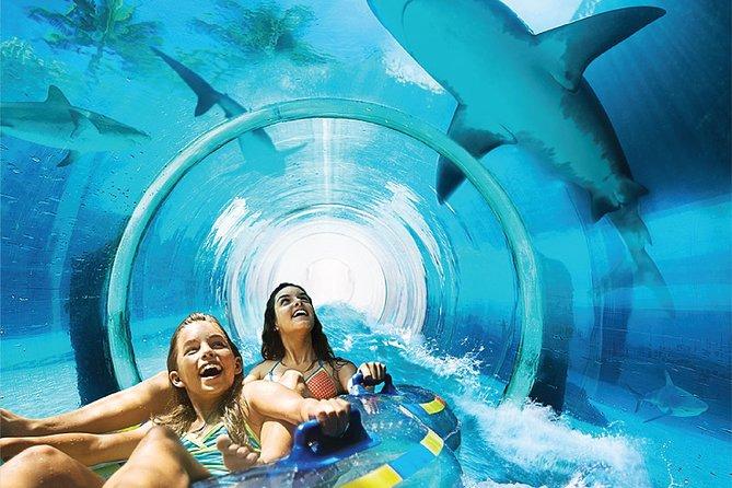 Atlantis Water Park en Lost Chambers Aquarium Entry Pass