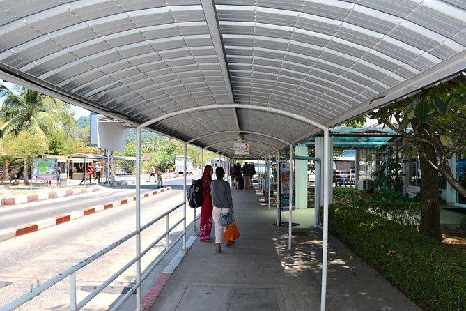 Koh Phangan to Nakhon Si Thammarat Airport by Seatran Discovery Ferry & Minivan